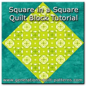 Stylish square in a square quilt block 9 Unique Square In A Square Quilt Pattern