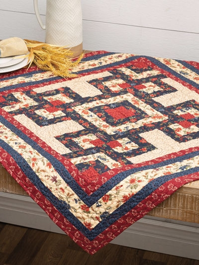 Stylish table topper quilt patterns are quick projects 9 Beautiful Table Topper Quilt Patterns