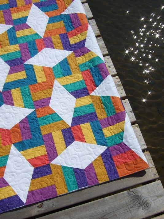 Stylish tamarack shack lazy angle ruler 9 Cozy Lazy Angle Quilt Patterns Gallery