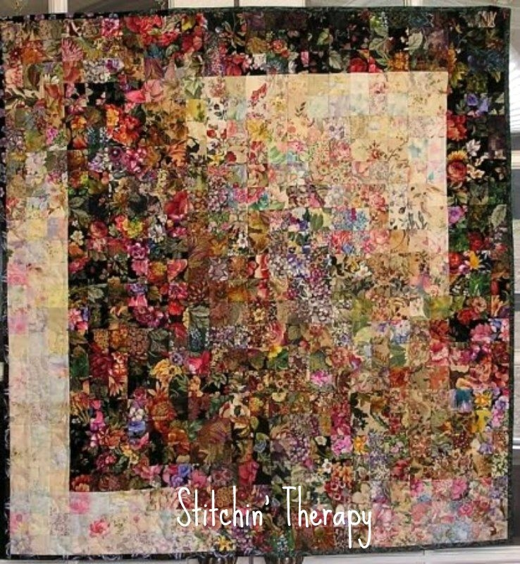 Stylish watercolor quilts watercolor quilt flower quilts 10 Elegant Watercolor Quilt Patterns Inspirations