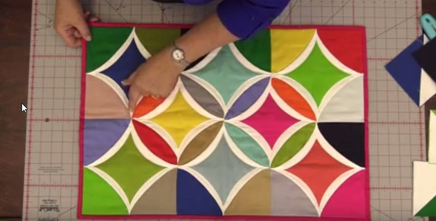 Stylish youll love this easy method for cathedral windows 10 New Pattern For Cathedral Window Quilt