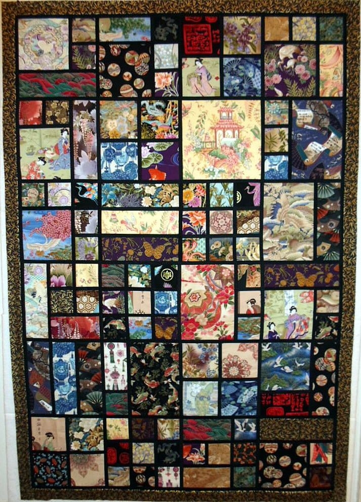 t oriental vignettes japanese quilts quilts japanese 10 Elegant Beautiful Oriental Fabric Panels For Quilting Ideas