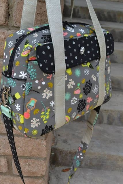 the nappy bag pattern mrs h sewn crystal chadwick 9 Cozy Quilted Diaper Bag Pattern Gallery
