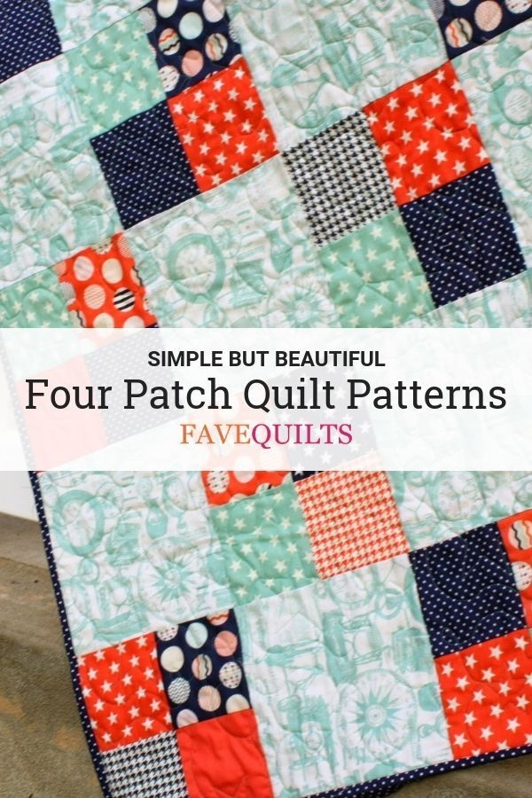 Unique 11 four patch quilt patterns beginner quilt patterns New Simple Patchwork Quilt Patterns Gallery