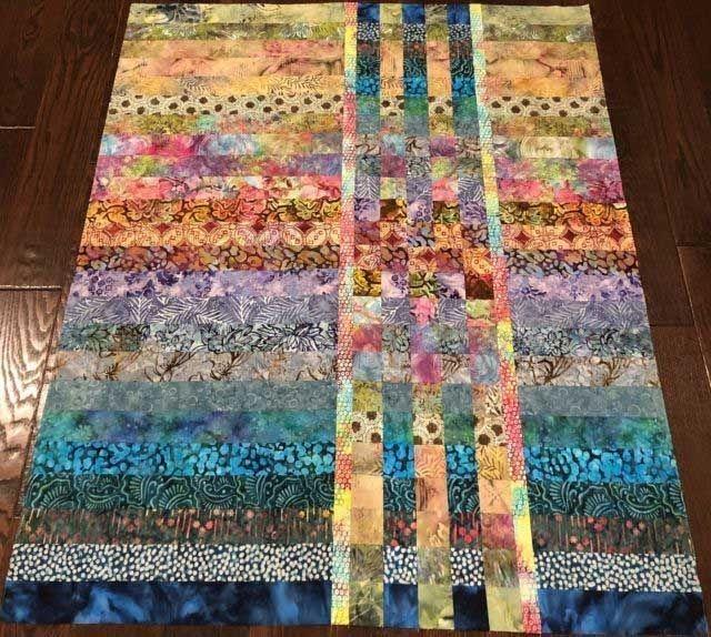 Unique 25 picturesque easy batik quilts patterns free 10 Cozy Quilt Patterns For Batiks Inspirations