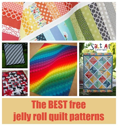 Unique 30 free jelly roll quilt patterns you will love 9   Quilt Patterns With Jelly Rolls Inspirations