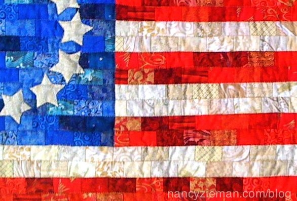 Unique american flag free quilt patterndevotequilternancy 10 New American Flag Quilt Patterns