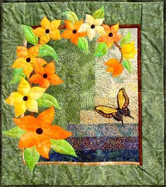 Unique array of color flower quilts applique quilt patterns 11 Stylish Easy Applique Quilt Patterns
