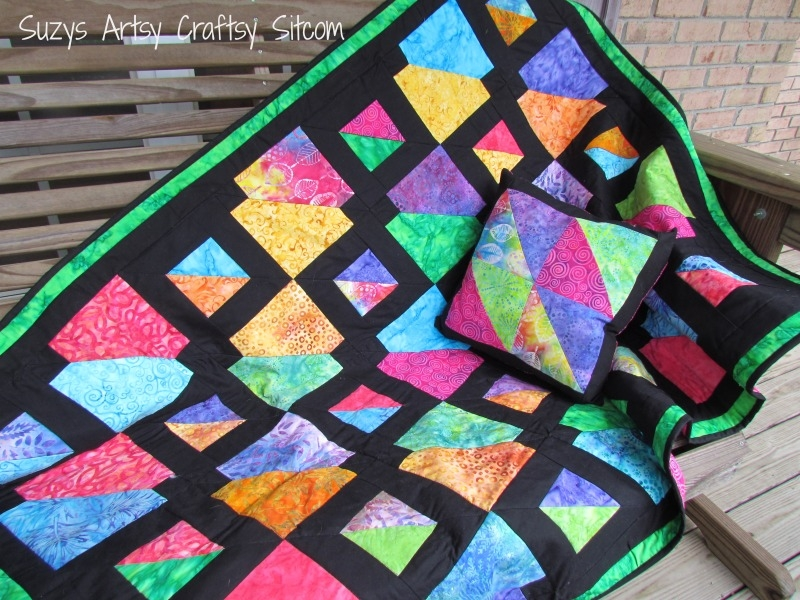 Unique batiks gone wild quilt pattern my latest design 10 Cozy Quilt Patterns For Batiks Inspirations