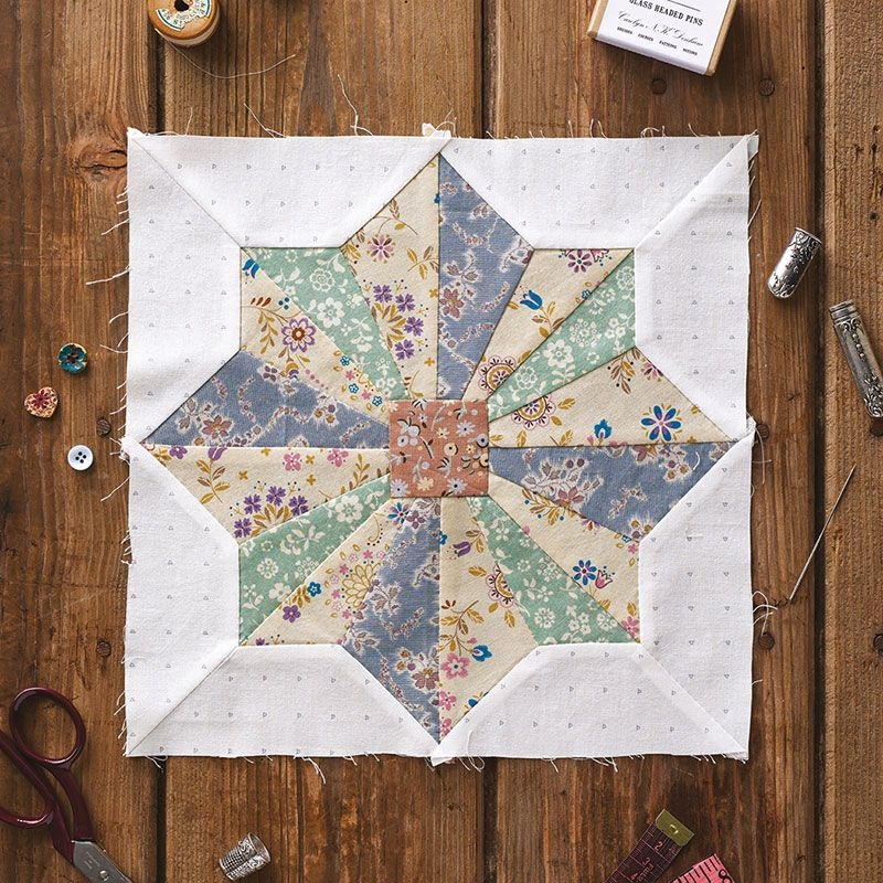Unique block of the month hand pieced sampler hand pieced quilts New Hand Pieced Quilt Patterns