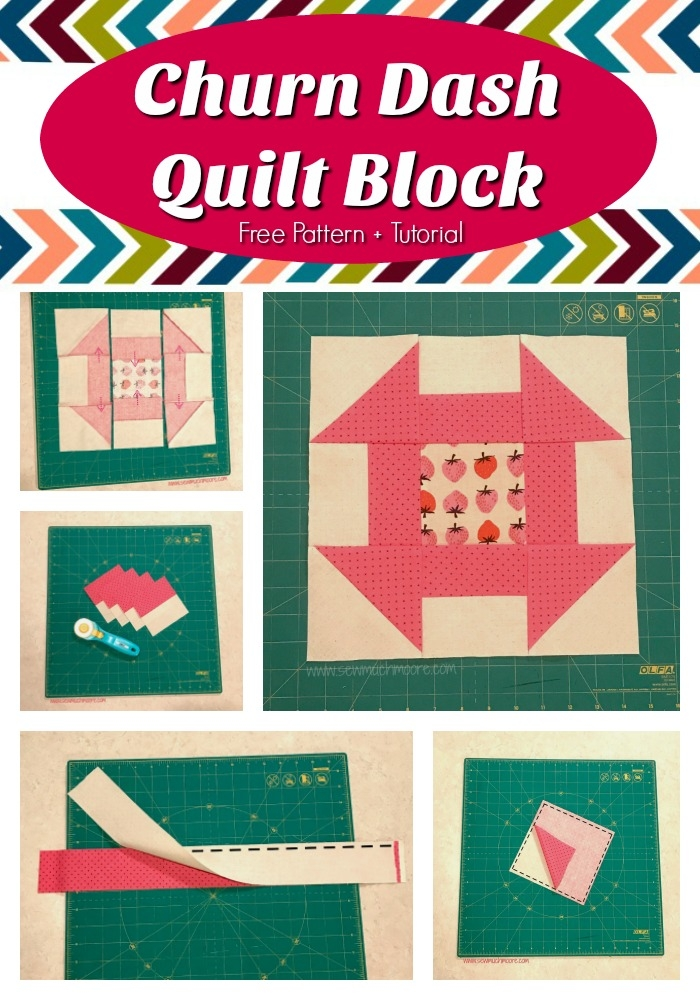 Unique churn dash quilt block sew much moore 10 Cozy Churn Dash Quilt Block Pattern Inspirations