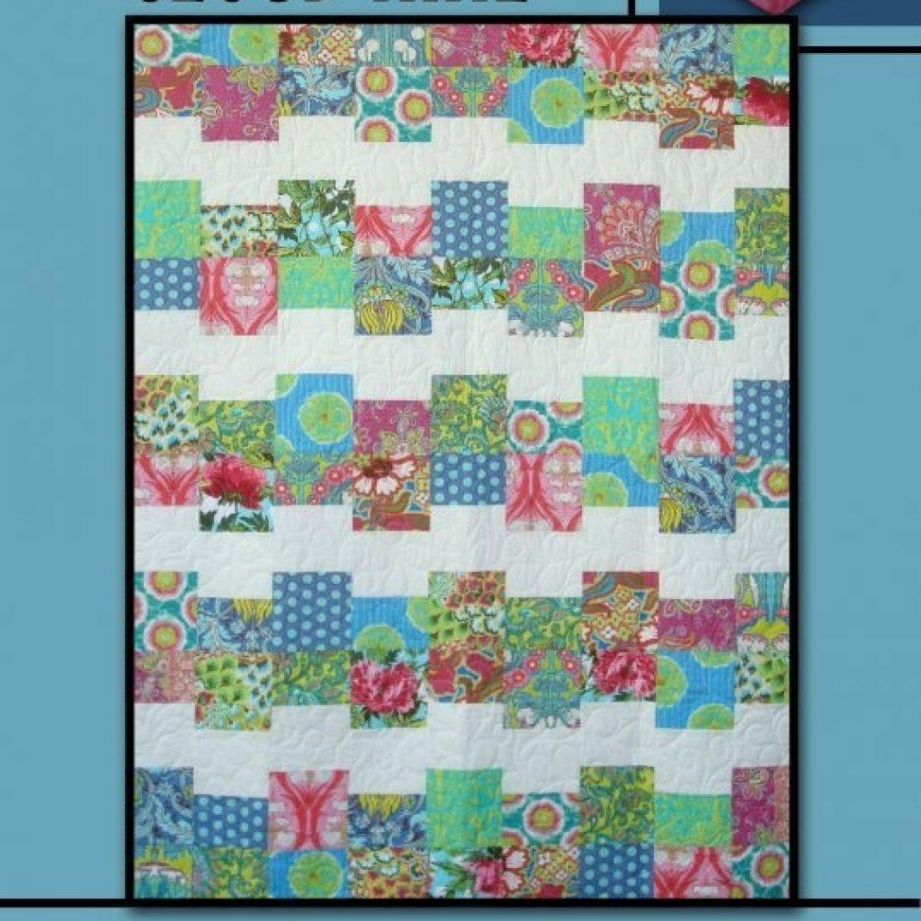 Unique cloud nine rosecard quilt pattern villa rosa designs 9 Stylish Cloud Nine Quilt Pattern Inspirations