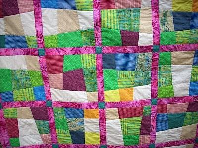 Unique crazy nine patch quilt for single bed sewn up 10 Unique Crazy 9 Patch Quilt Pattern Gallery