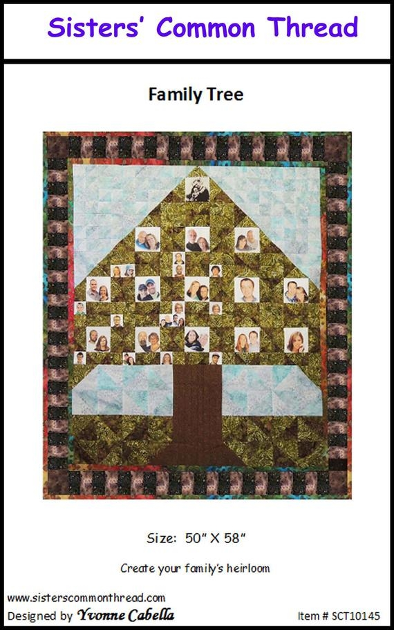 Unique family tree quilt pattern op sisters common thread New Family Tree Quilt Patterns Inspirations