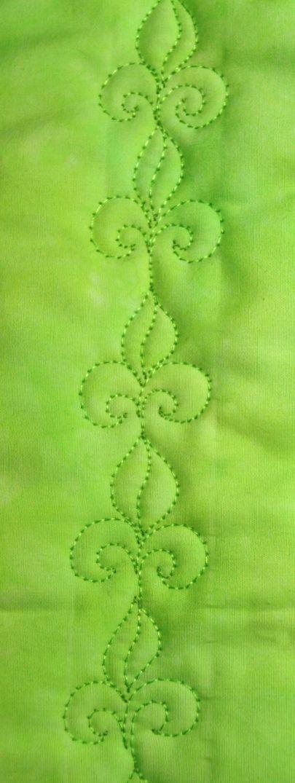 Unique fleur de lis free motion quilting tutorial machine 10 Stylish Free Fleur De Lis Quilt Pattern