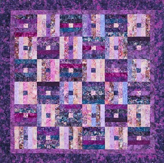 Unique free batik quilt patterns allpeoplequilt 10 Unique Quilt Patterns Using Batiks