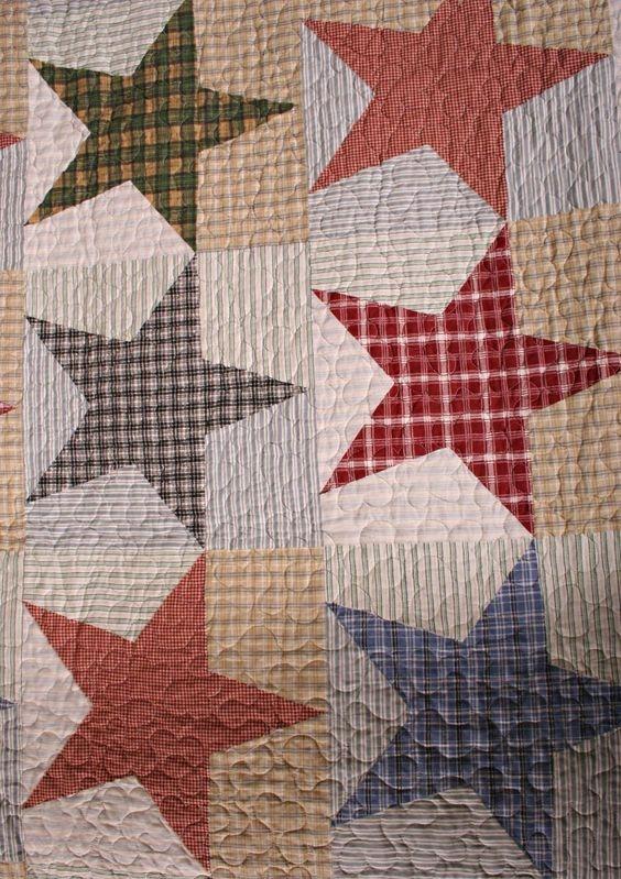 Unique free primitive star quilt pattern austin primitive Cozy Country Primitive Quilt Patterns Inspirations