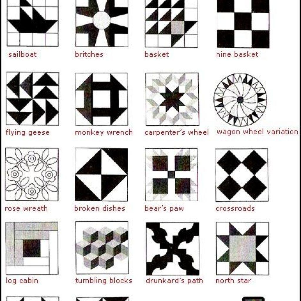 Unique patterns from the freedom trails quilt underground 11 Stylish Underground Railroad Quilt Block Patterns Gallery