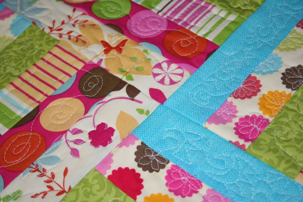 Unique quilt as you go quilt 10 steps with pictures instructables Interesting Quilt As You Go Quilt Patterns