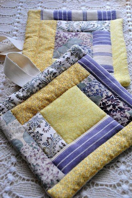 Unique quilted potholders quilted potholders quilts quilting crafts 9 Modern Martha Stewart Quilt Patterns Gallery
