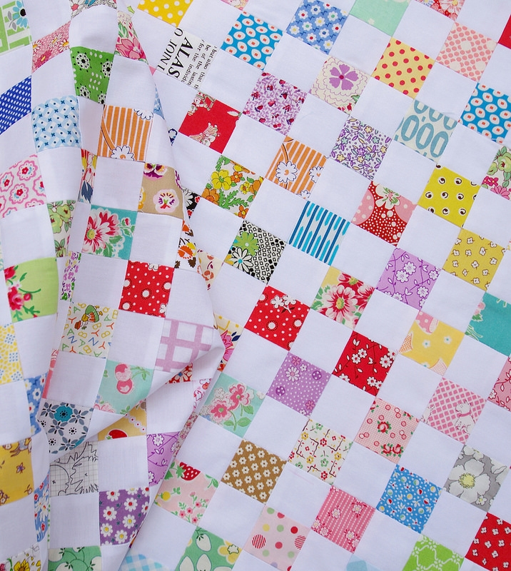 Unique red pepper quilts a checkerboard quilt and a strip piecing 9   Checkerboard Quilt Pattern Gallery