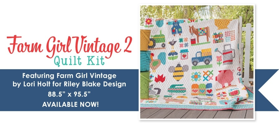 Unique this is not a drill farm girl vintage 2 book is here 11 Interesting Farm Girl Vintage Quilt Kit