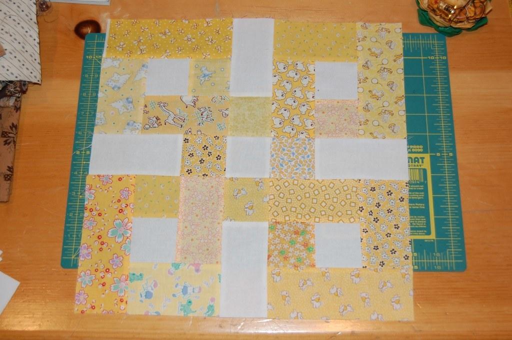 Unique waste knot block yellow julie bridgeman flickr Unique Waste Knot Quilt Pattern Gallery