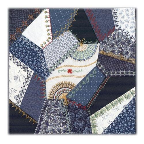 victorian crazy quilt 10 quilt pattern 10 New Victorian Crazy Quilt Patterns