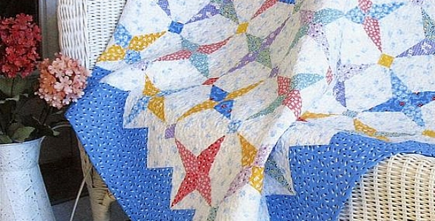 1930s prints are lovely in this quilt quilting digest 9 Interesting Hummingbird Quilt Pattern By Darlene Zimmerman