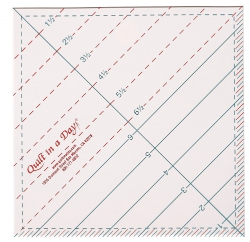 6 12 triangle square up ruler quilt in a day 10 Cool Quilting Triangle Ruler