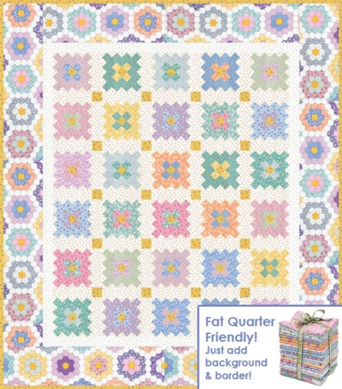 almost a flower garden free pattern robert kaufman fabric 9 Interesting Hummingbird Quilt Pattern By Darlene Zimmerman