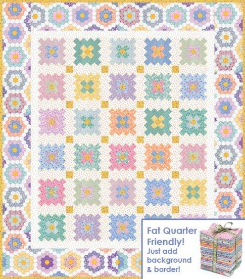 almost a flower garden free pattern robert kaufman fabric 9 Interesting Hummingbird Quilt Pattern By Darlene Zimmerman