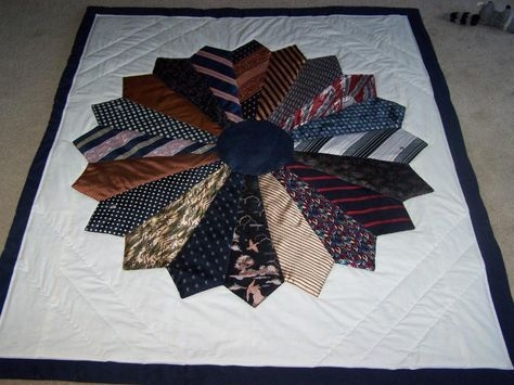 Beautiful 53 ideas for sewing gifts for men dads memory quilts in 2020 Cool Tie Quilt Ideas For Gifts Inspirations