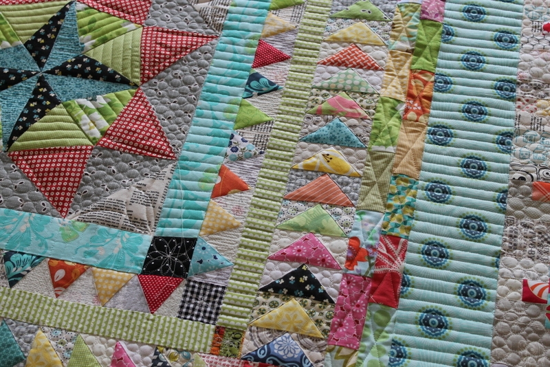 Beautiful a timeless charm to any quilt with scrappy quilt borders 10   Easy Quilt Border Patterns Inspirations