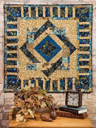 Beautiful add a twist of style to any wall with this exclusively 9 Beautiful Quilt Patterns For Wall Hangings