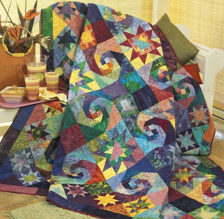 Beautiful best of fons porter star quilts in 2020 quilts star 9 Stylish Fons & Porter Quilt Patterns