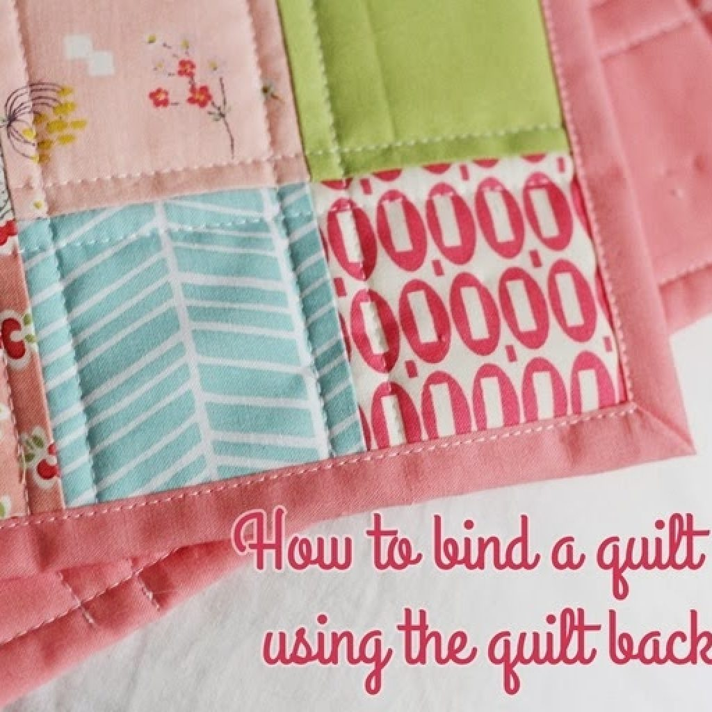Beautiful binding a quilt with the quilt back cluck cluck sew 9 Elegant Sewing Edging On Quilt Inspirations