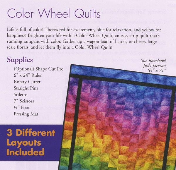 Beautiful color wheel quilt pattern Color Wheel Quilt Pattern