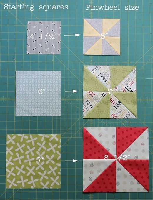 Stylish Easy Pinwheel Quilt Pattern Gallery