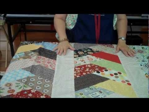 Beautiful friendship braid quilt idea using half hex ruler youtube 11 Cozy Friendship Braid Quilt Pattern Gallery
