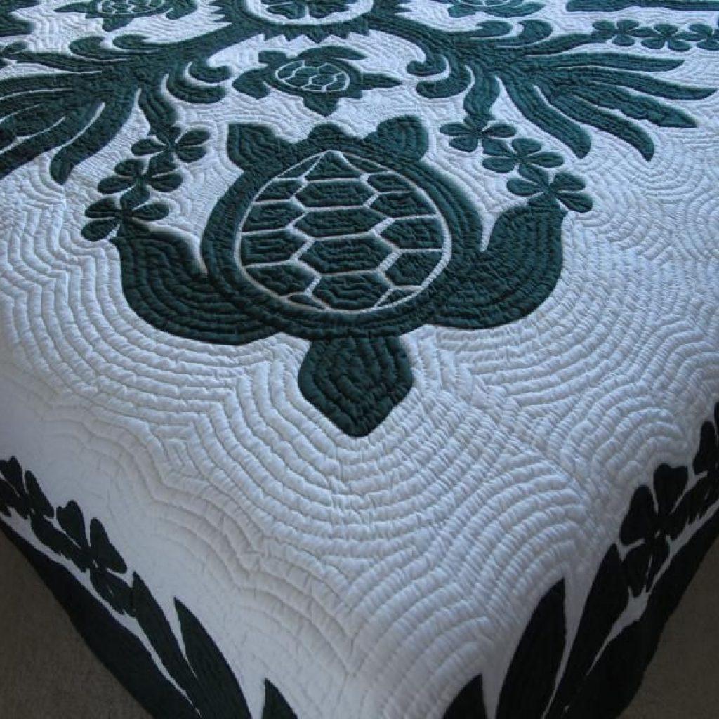 Beautiful hawaiian quilt wholesale turtle quilt hawaiian quilts 10   Hawaiian Sea Turtle Quilt Patterns