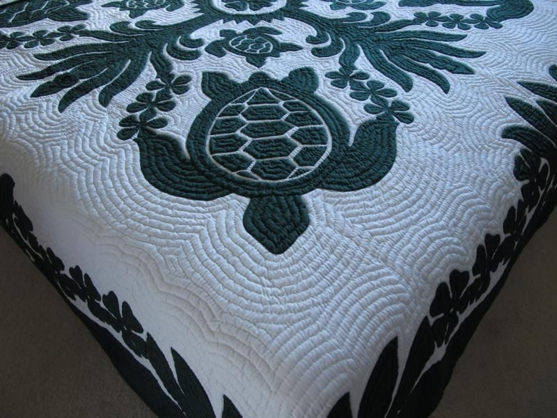 Beautiful hawaiian quilt wholesale turtle quilt hawaiian quilts 10   Hawaiian Sea Turtle Quilt Patterns