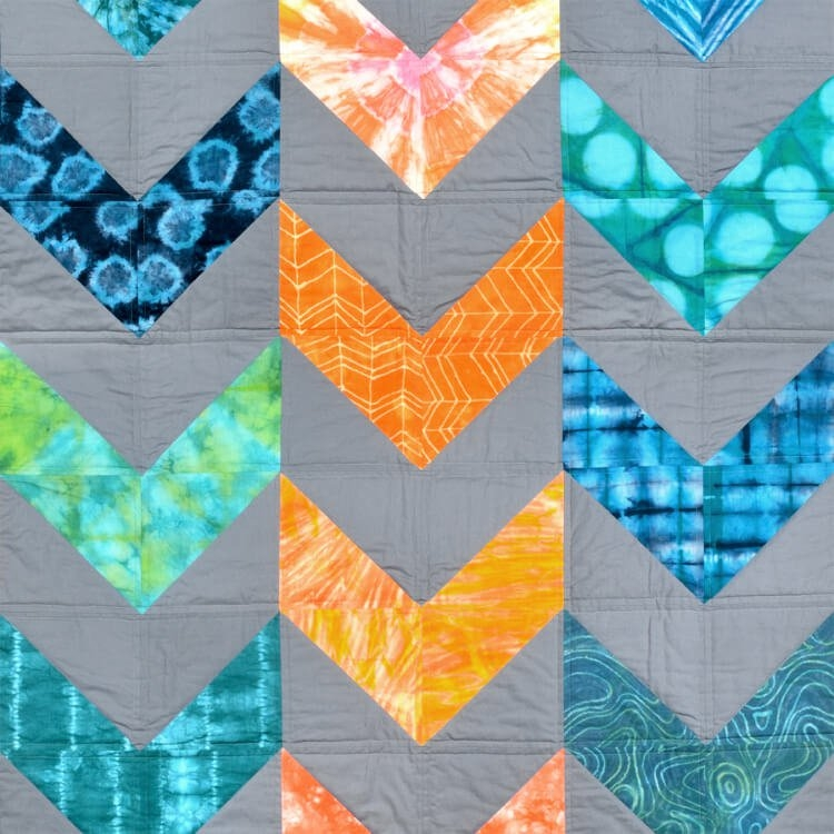 Beautiful how to make a herringbone quilt ofs makers mill 11   Herringbone Quilt Pattern Gallery