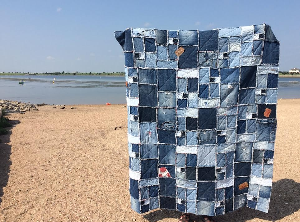 Beautiful how to make rag quilts 32 tutorials with instructions for 10 Interesting Denim Rag Quilt Patterns