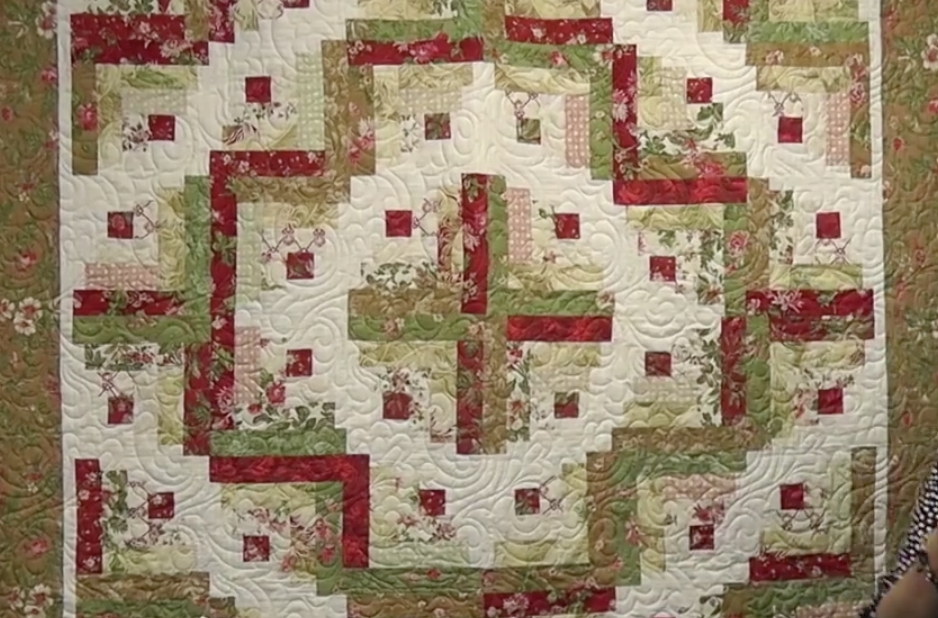 Beautiful image result for curved log cabin log cabin quilts log 10 Interesting Curved Log Cabin Quilt Pattern