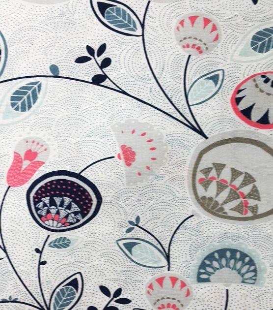 Beautiful koko lee quilt fabric dotted scallop floral jo ann 10   Stylish Baby Quilt Kits Joann Fabrics Inspirations