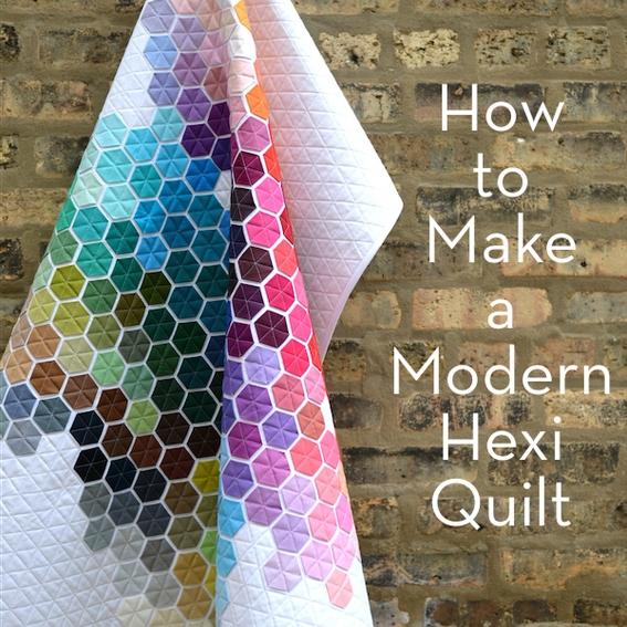 Beautiful make it modern hexagon quilt hexagon quilt tutorial 11 Modern Modern Hexagon Quilt Patterns Inspirations