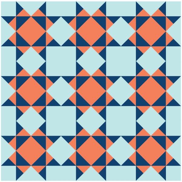 Beautiful missouri star quilt block scissortail quilting 10   Missouri Quilt Block Patterns Gallery