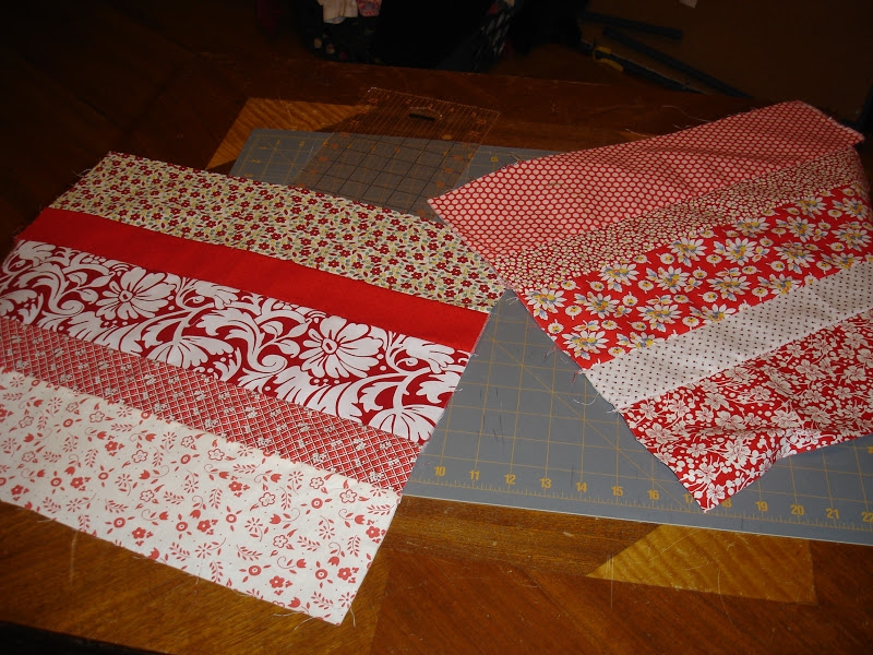 Beautiful moving on to the past wickedly easy red and another in line 9   Wickedly Easy Quilt Pattern