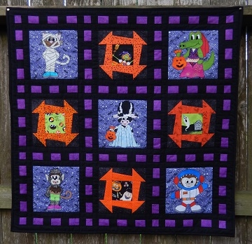 Beautiful ms ps halloween shop ms p designs usa 11 Modern Halloween Quilts Patterns